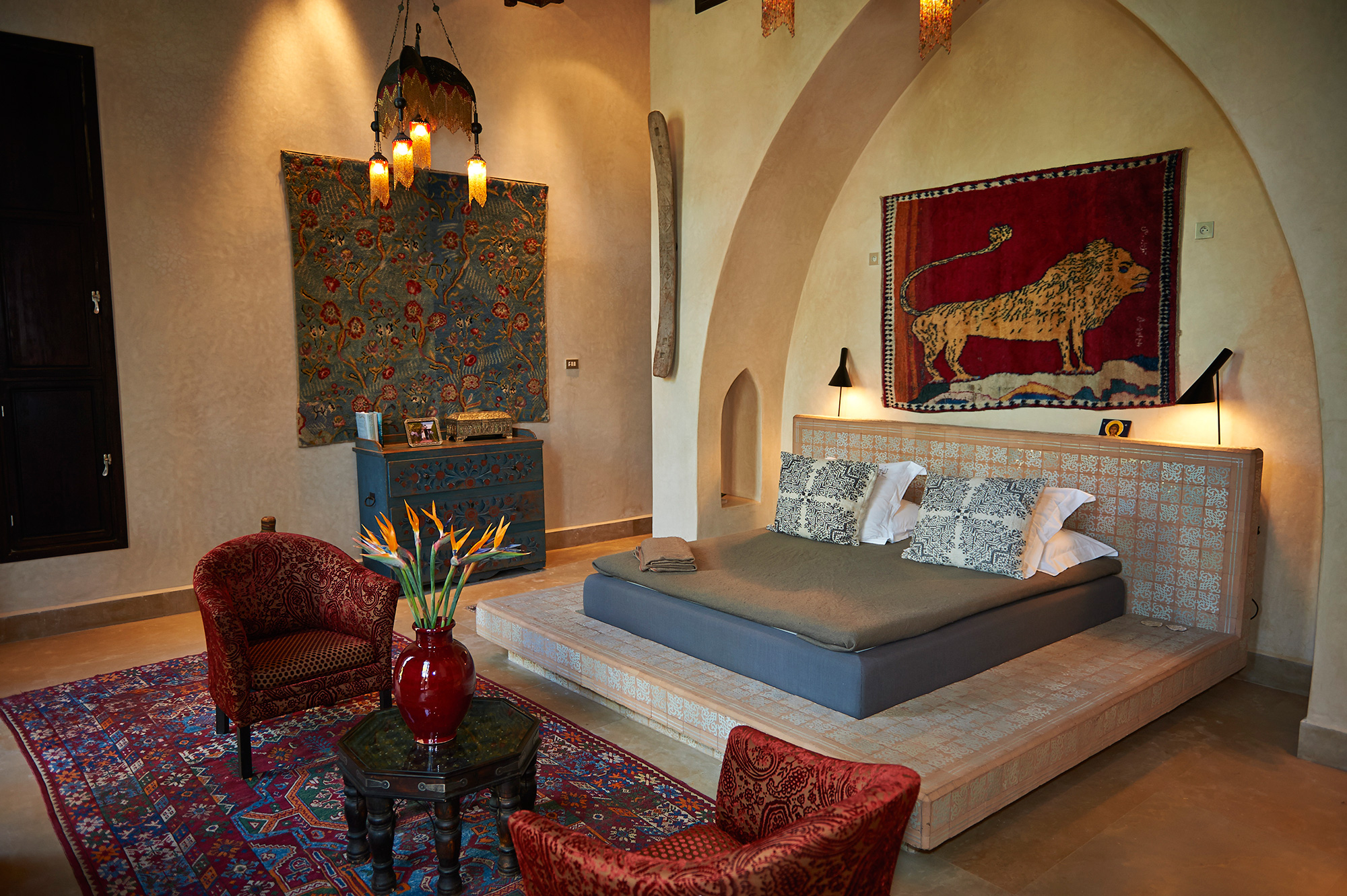 The Master Bedroom at Dar Jennat