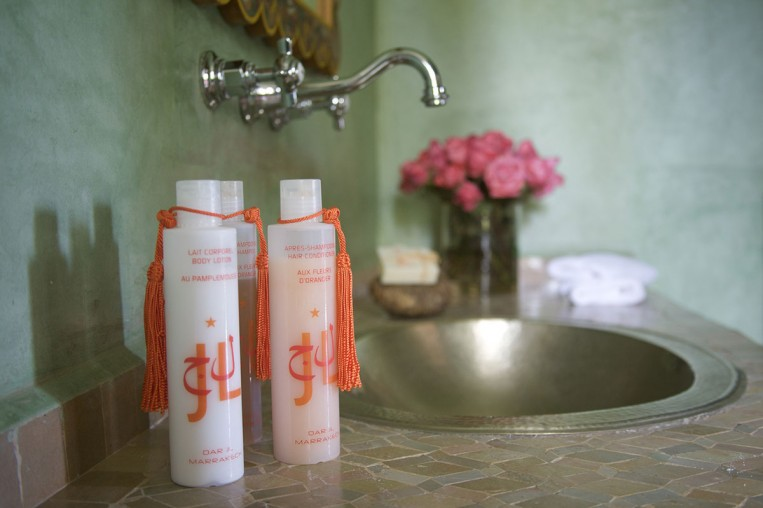 Personal Bathroom products from Dar JL Marrakech Hotel